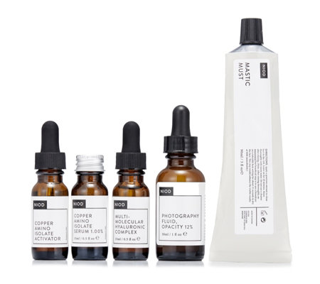 NIOD Dermal Science 4 Steps to Radiant Skin Collection