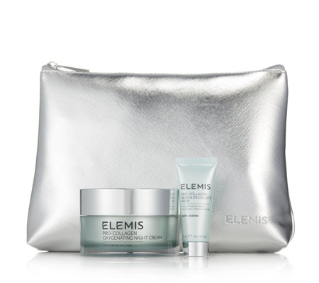 Elemis Pro-Collagen Oxegenating Night Cream 100ml & Neck & Decollete Balm
