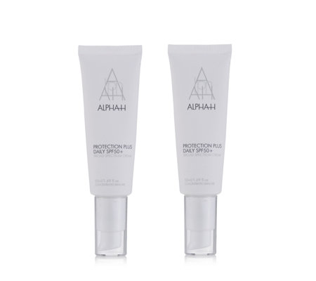 Alpha-H Protection Plus Daily SPF50+ 50ml Duo