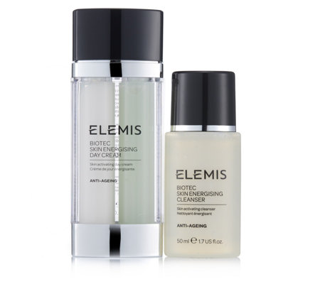 Elemis 2 Piece Biotec Day Cream & Travel Cleanser