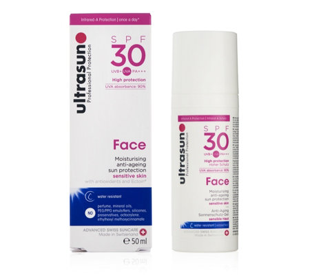 Ultrasun Sun Protection Face SPF30 50ml