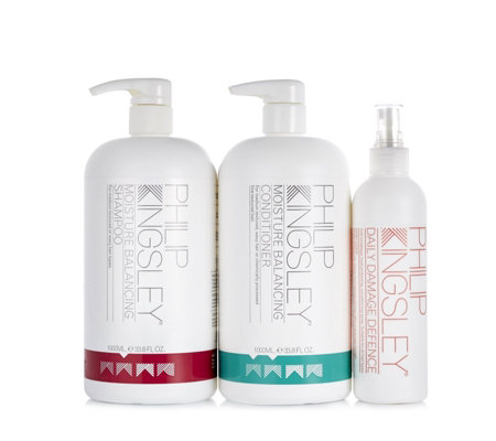Philip Kingsley 3 Piece Supersize Moisture Balancing Hair Collection