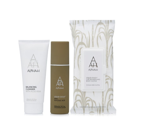 Alpha-H 3 Piece Head To Toe Skin Resurfacing Collection