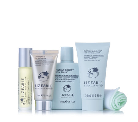 Liz Earle 4 Piece Superskin Discovery Collection