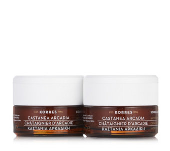 Korres 2 Piece Castanea Day & Night Cream Collection 40ml - 233915
