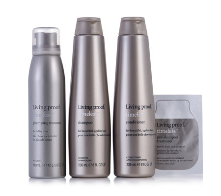 Living Proof 4 Piece Timeless Anti Ageing Haircare Collection