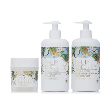 Philip Kingsley Coconut Breeze 3 Piece Hair Collection