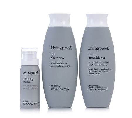 Living Proof 3 Piece Full Complete Volume Solution Qvc Uk