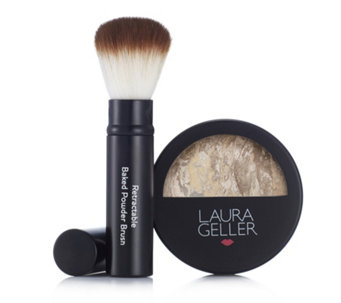 Laura Geller Balance-n-Glow Baked Foundation 8g & Brush - 213417