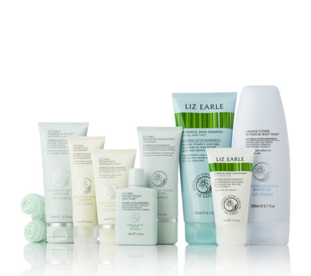 Liz Earle 8 Piece Radiant Skin & Hair Collection