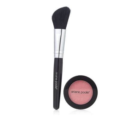 Ariane Poole Mineral Blusher with Brush