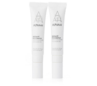 Alpha-H Absolute Eye Complex 15ml Duo - 205018