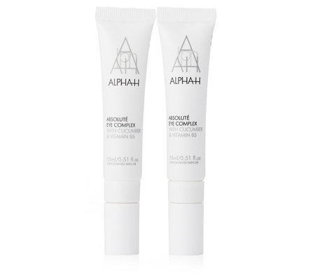 Alpha-H Absolute Eye Complex 15ml Duo
