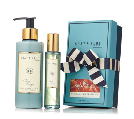 Shay & Blue 2 Piece Blood Oranges EDP & Body Lotion