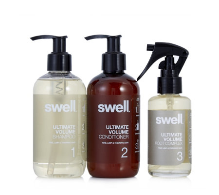 Swell 3 Piece Ultimate Volume Hair Collection