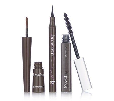 Bbrowbar 3 Piece Brow Colour Kit