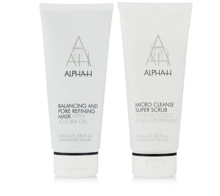 Alpha-H Pore Perfecting Deep Cleanse Duo