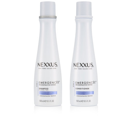 Nexxus 2 Piece Emergencee Reconstructive Shampoo & Conditioner 250ml