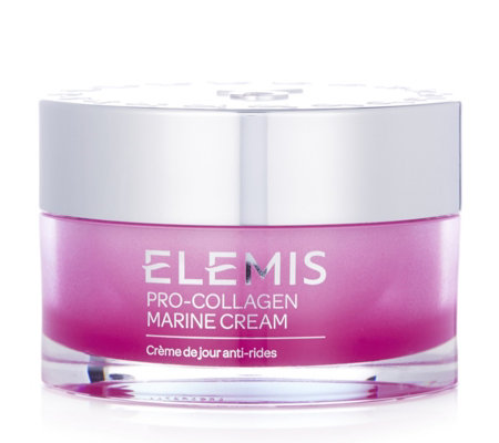Elemis Pro-Collagen Marine Cream tones and firms your skin with active marine botanicals for a more youthful appearance. Padina Pavonica extract stimulates cell growth to reduce fine lines and wrinkle.