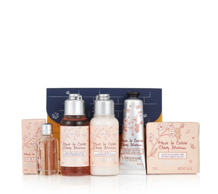 L'Occitane 5 Piece Bath & Body Collection With Gift Box