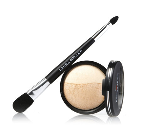 Laura Geller Supersize Baked Split Highlighter 8g & Applicator