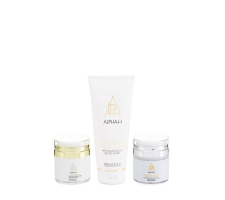 Alpha-H 3 Piece Liquid Gold Ultimate Perfecting Collection