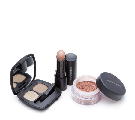 bareMinerals 3 Piece Beauty Resolutions Make-up Collection