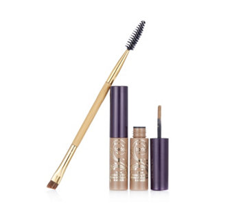 Tarte Brow Sculpting Fibres Duo with Double Ended Brow Brush - 216526