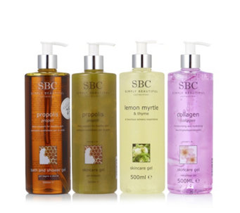 SBC 4 Piece Shower & Gel Collection - 230926