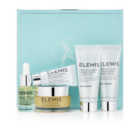 elemis 5 piece pro collagen discovery collection