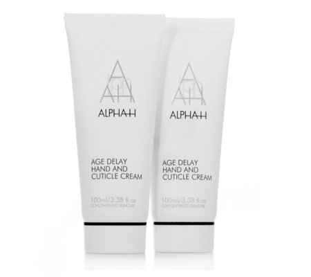 Alpha-H Age Delay Hand & Cuticle Cream 100ml Duo