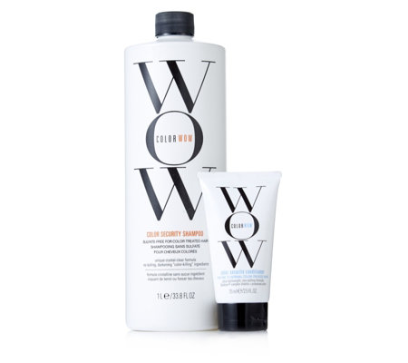 Color Wow 2 Piece Supersize Shampoo & Travel Conditioner