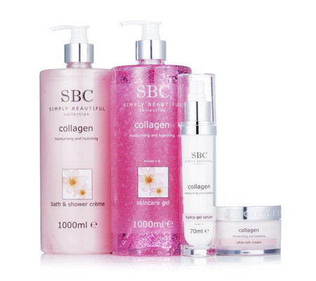 SBC 4 Piece Supersize Collagen Skincare Collection