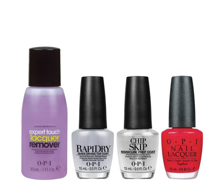 OPI 4 Piece Start To Finish Manicure Collection