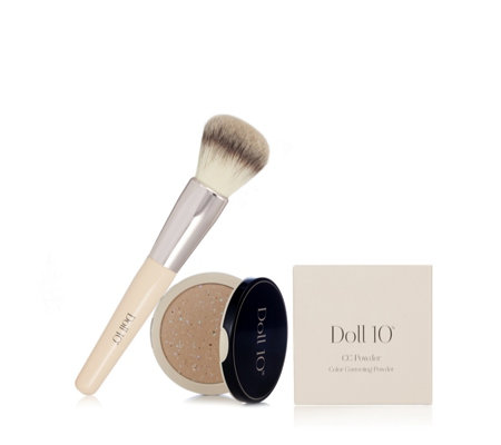 Doll 10 Pixelated Colour Correcting Powder with Brush
