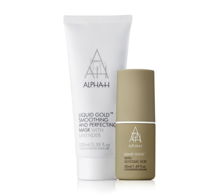Alpha-H 2 Piece Liquid Gold Mask & Liquid Gold