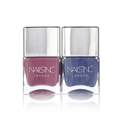 Nails Inc 2 Piece Summer Pastels Collection