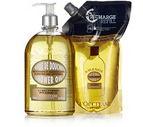 L'Occitane Almond Shower Oil & Eco Refill 500ml - 212131