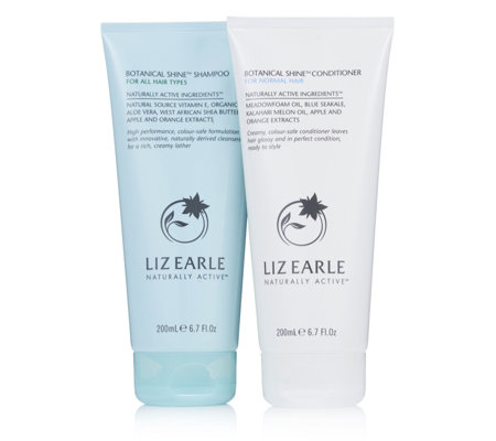 Liz Earle Botanical Shine Shampoo & Conditioner Haircare Duo