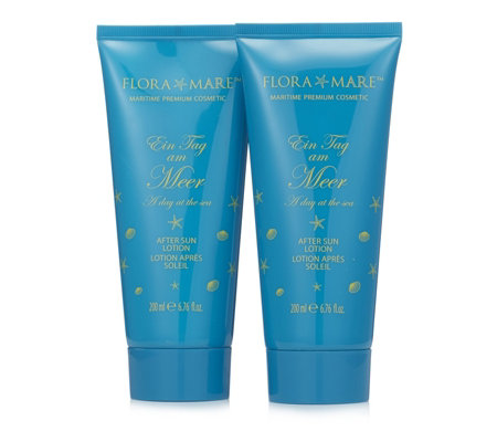 Flora Mare A Day At The Sea After Sun Lotion 200ml Duo