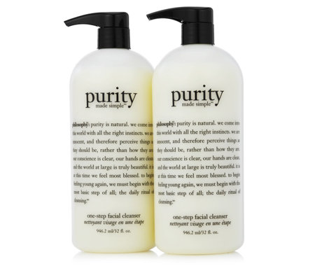Philosophy Purity Made Simple Facial Cleanser Duo 946ml