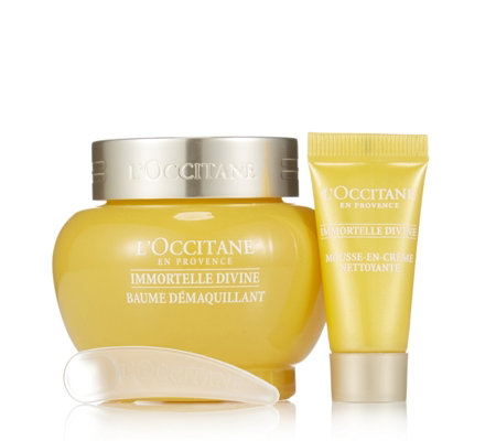 L'Occitane Divine Double Cleansing Balm & Foam