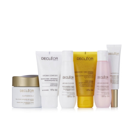 Decleor 6 Piece Skin & Body Glow Collection