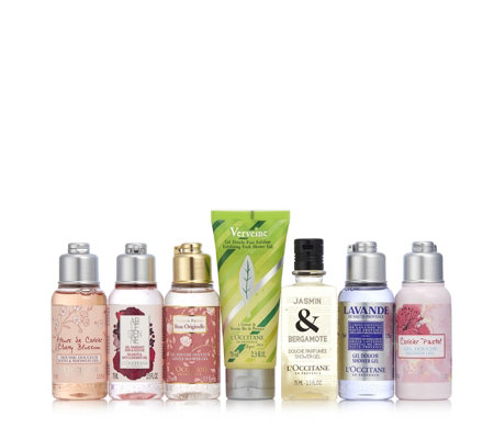L'Occitane 7 Piece Shower Gel Boutique
