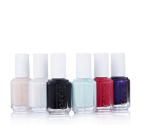 Essie 6 Piece Licorice Allsorts Colour Collection