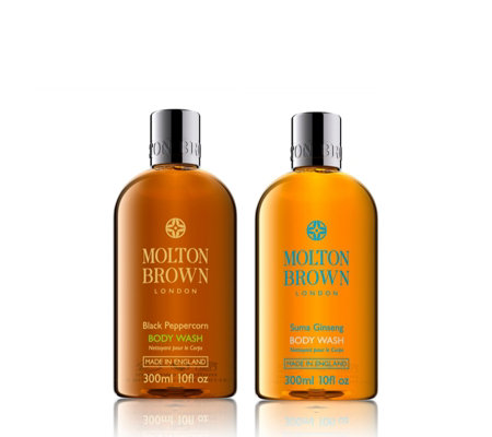 Molton Brown Black Peppercorn & Suma Ginseng Body Wash Duo