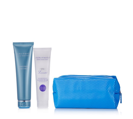 Flora Mare 2 Piece Day & Night Hand Treatment with Beauty Bag