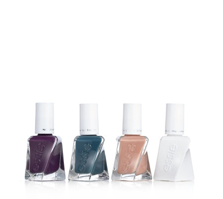 Essie 4 Piece Gel Couture Fall Influenced Collection