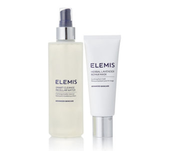 Elemis Micellar Water & Herbal Lavender Repair Mask - 234136
