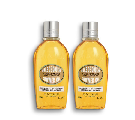 L'Occitane Almond Shower Oil Duo 250ml